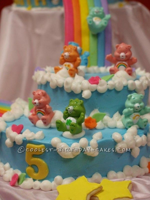 Care Bear Cake Ideas 55351 Care Bears Cake This Website Is