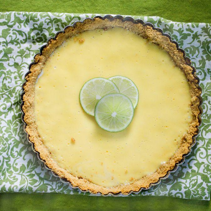 key lime tart | Sweetie .... ! | Pinterest