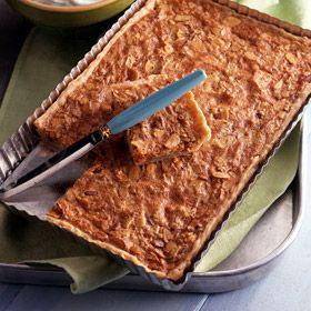 Toasted Almond Tart | Land O'Lakes