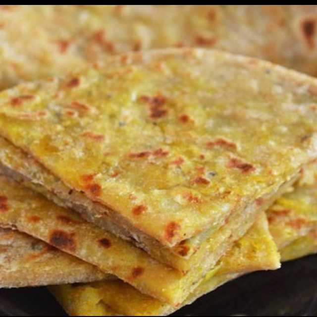 Aloo Paratha (potato bread) | Recipes - bread | Pinterest