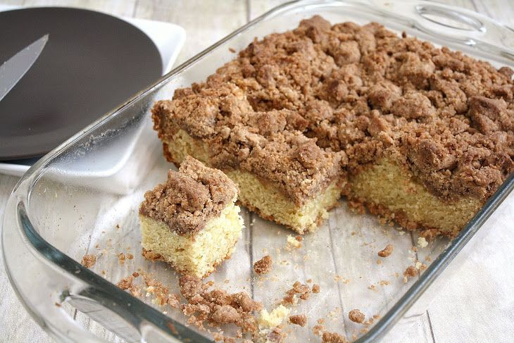 New York-Style Crumb Cake | Recipes | Pinterest
