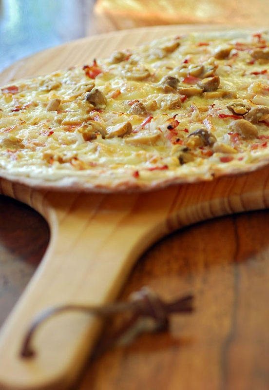 tarte flambee | FOOD | Pinterest