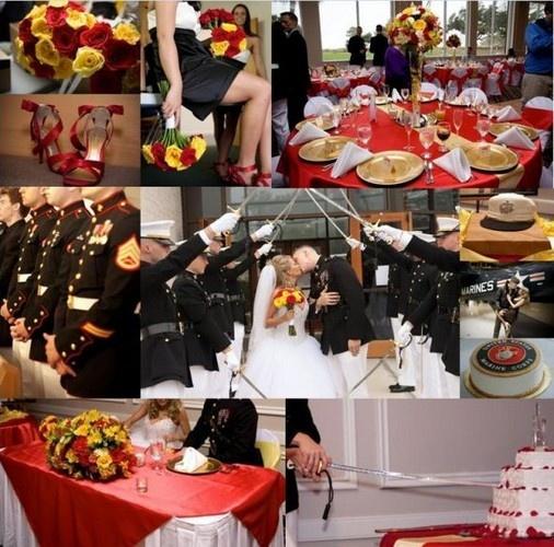 Marine Wedding Theme