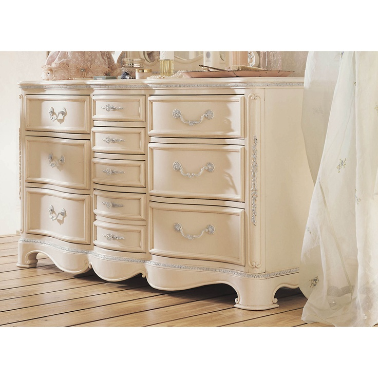 Jessica Mcclintock Romance Furniture Jessica McClintock Romance Ten Drawer Dresser
