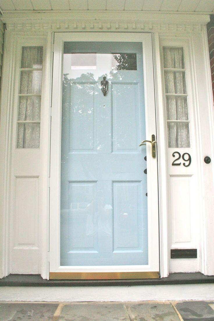 No. 29 design - painted front door and hardware