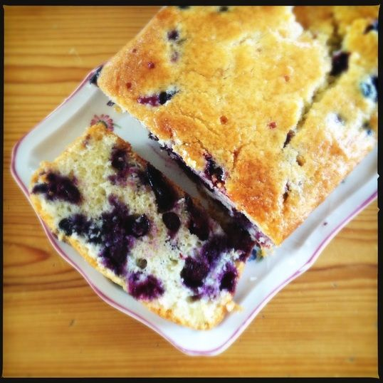 Lemon Blueberry Yogurt Cake | You Are What You Eat...Be Healty! | Pin ...