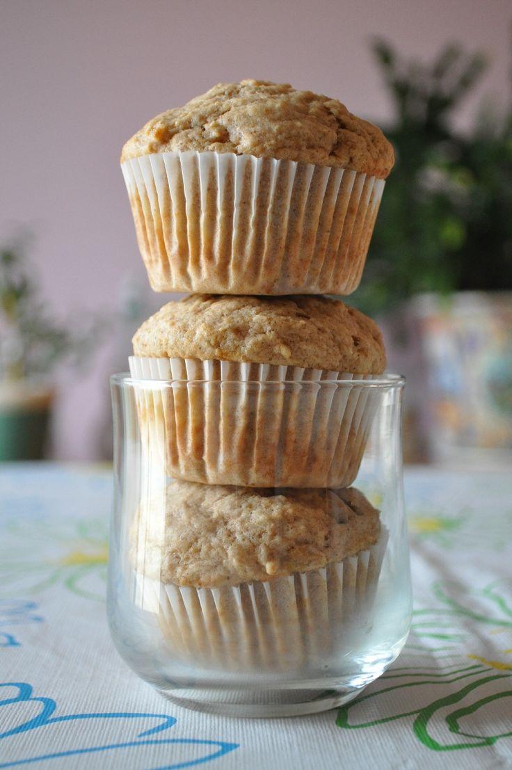 Pumpkin spiced applesauce muffins | Pumpkin recipes | Pinterest