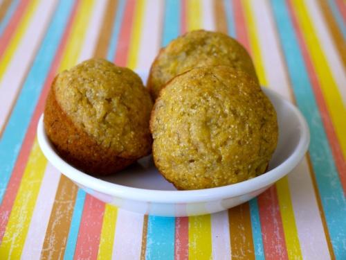 Banana Corn Muffins | Recipe