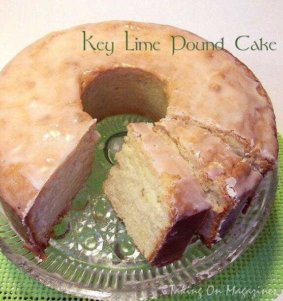 Key Lime Pound Cake | Cake | Pinterest