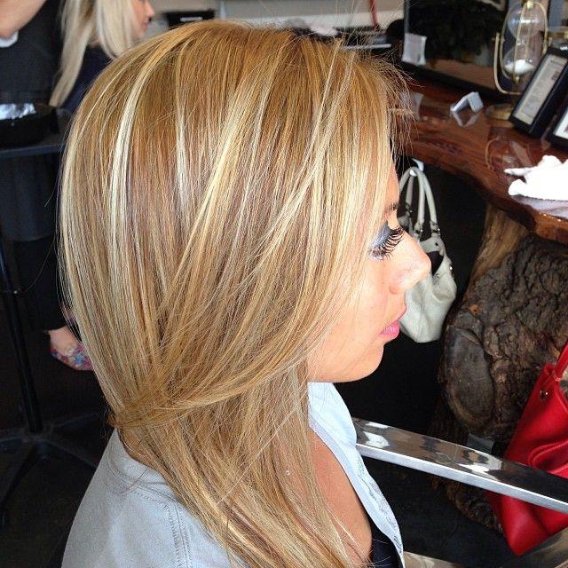 Dark Golden Blonde Hair With Highlights