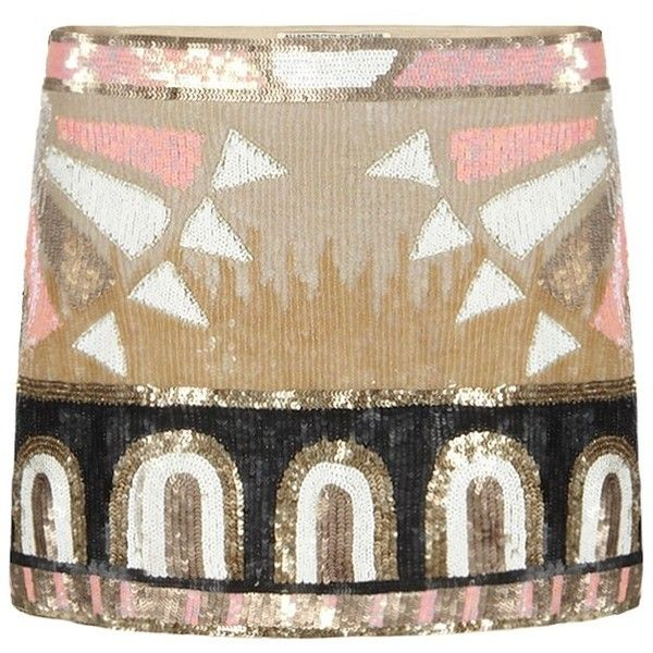 Embellished Pipali Skirt found on Polyvore