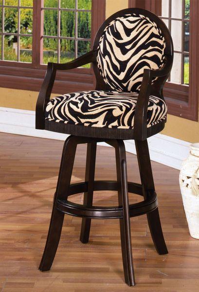 The Echo Park Zebra-Print Bar Stool | House stuff | Pinterest Zebra T3