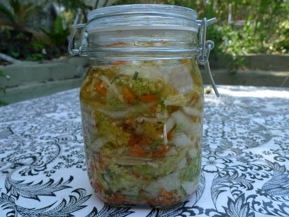 Quick Kimchi recipe