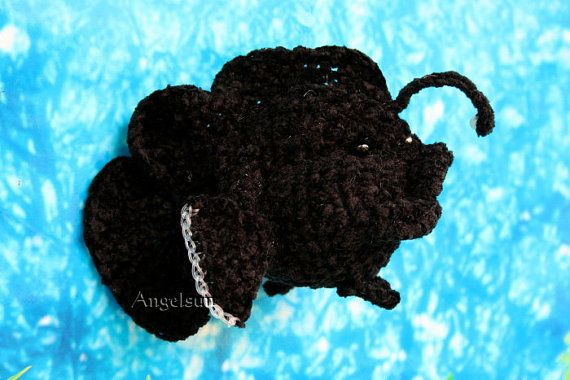 Rogue and Rouge the Reef Angler Fish Crochet PDF Pattern ...