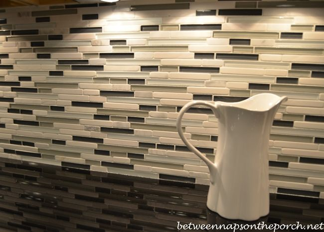top island and glass tile backsplash for basement terrace level lowes