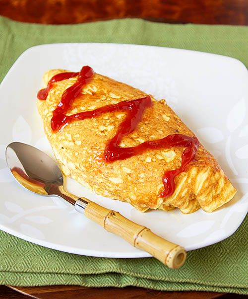 Omurice, Japanese Omelette Rice | Food Inspirations | Pinterest