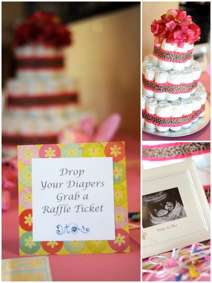 diaper raffle party inspiration baby shower pinterest
