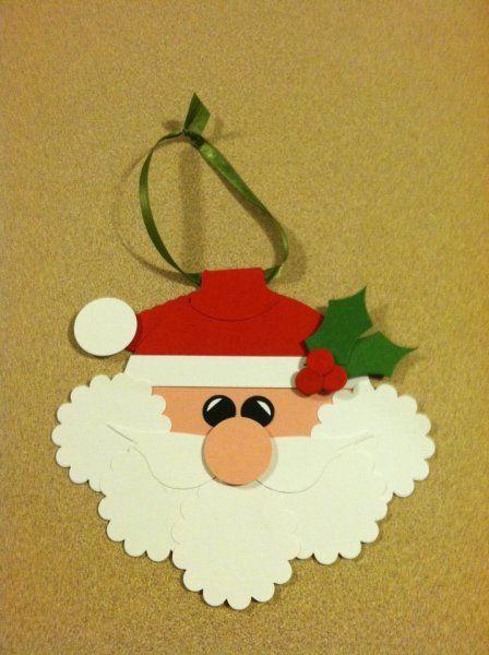 Stampin' Up! Punch Art Jenny Hobbs Santa