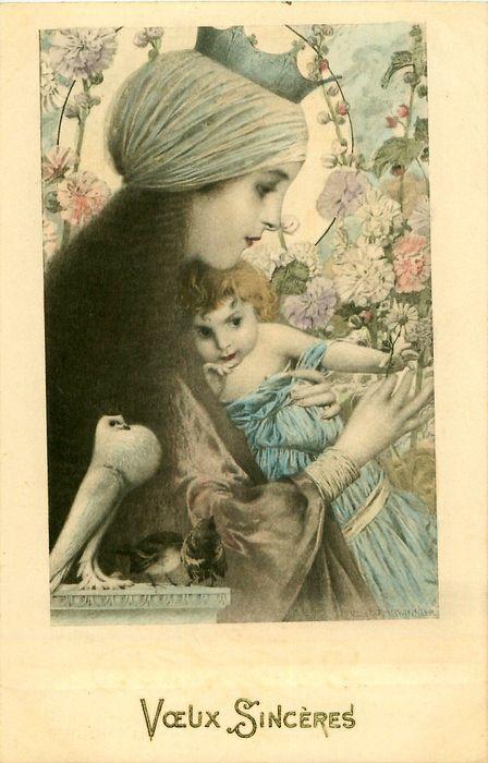French postcard.