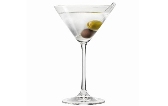 Dirty Martini | Cocktails inspired by Mad Men | Pinterest