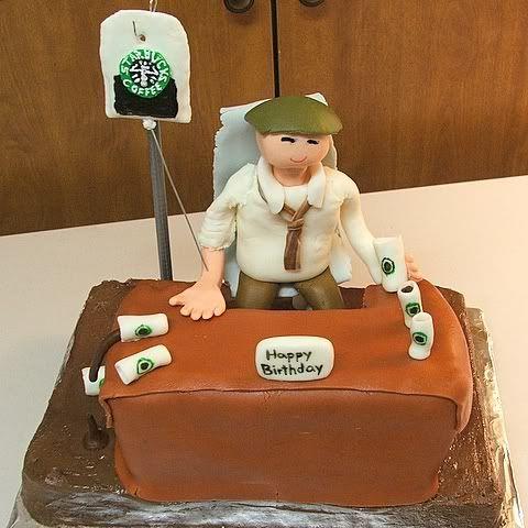 Starbucks Birthday Cake | CAKE APPEAL | Pinterest