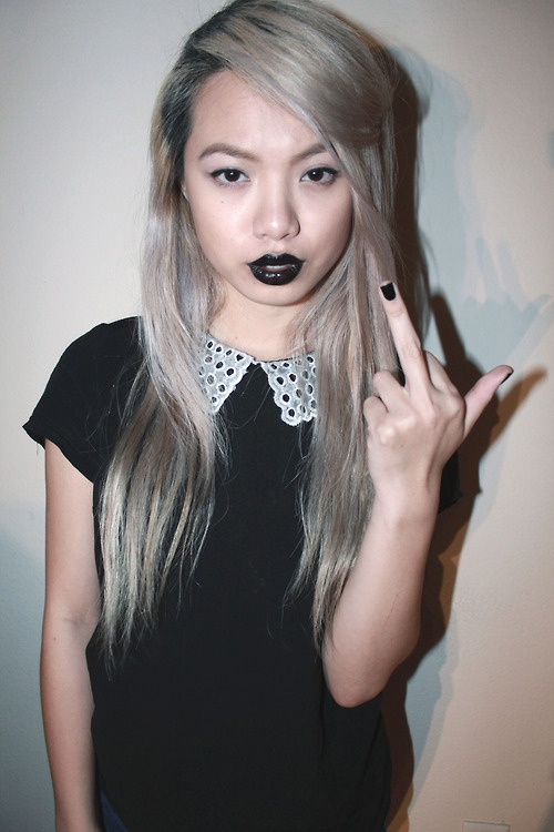 Ash Blonde Asian  Hairy Ideas  Pinterest