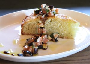 Rosemary Olive Oil Cake with Fig Honey Relish from California Olive ...