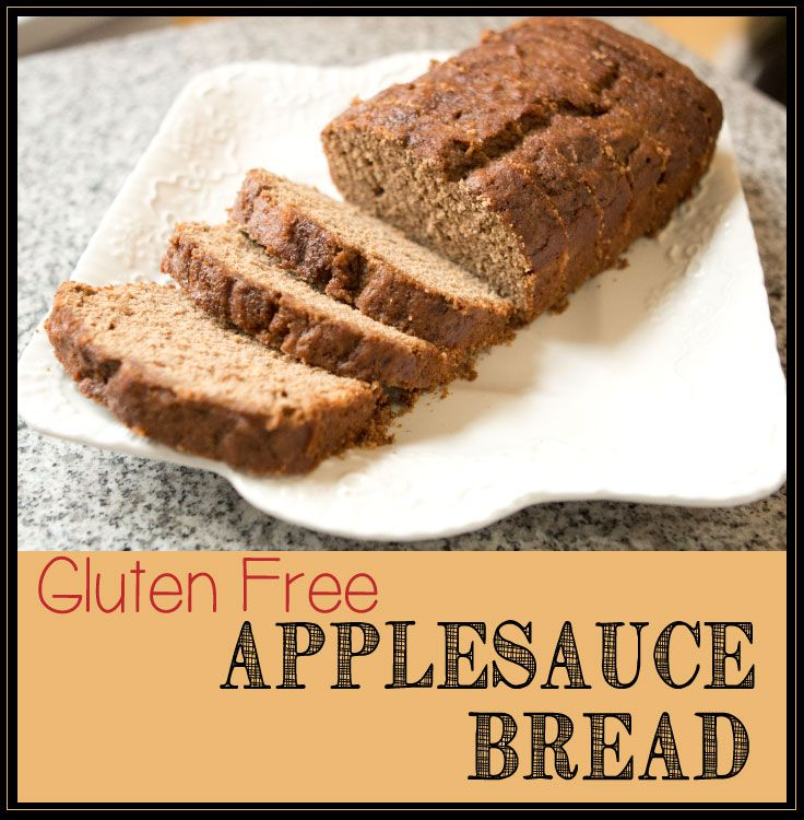 Love Applesauce Bread - it makes the house smell so good! And this one ...