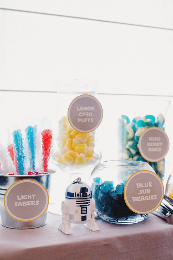 star wars baby shower