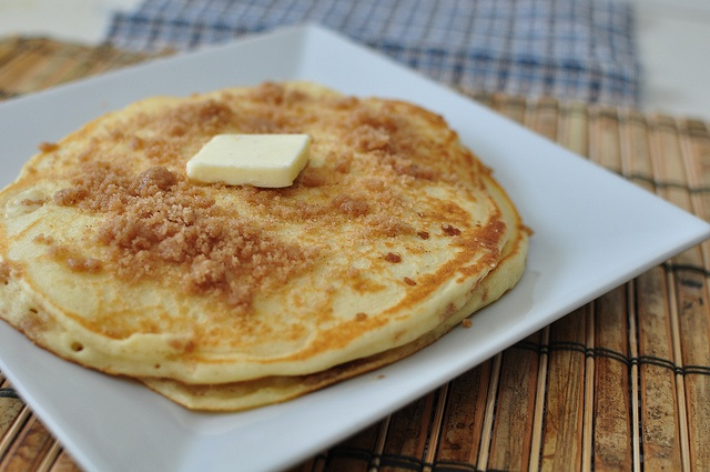 Cinnamon Streusel Pancakes by meghensley, via Flickr