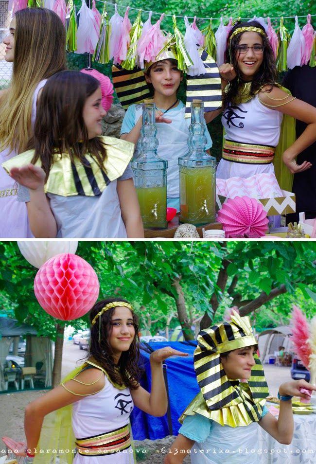 Decoracion Egipcia Fiesta ~ rosa y dorado para una fiesta egipcia  decoracion fiesta  Pinterest
