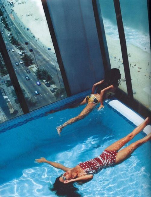 High rise swimming pool must be something in the water pinterest for Houston swimming pool high rise