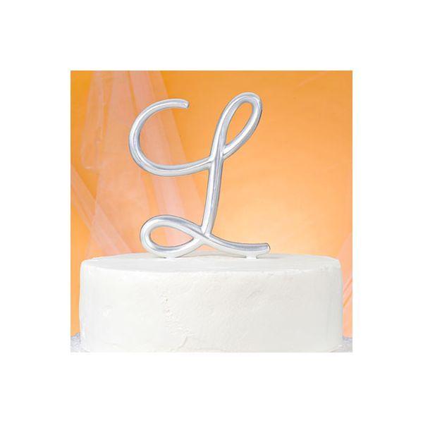 Monogram L Wedd... M Monogram Wedding Cake Toppers