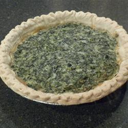 Spinach Muenster Quiche Allrecipes.com