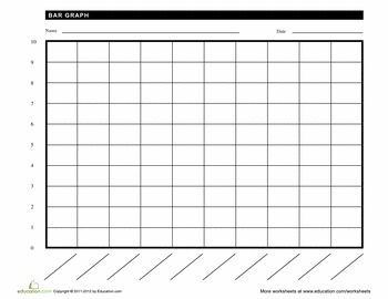 printable blank bar graph template