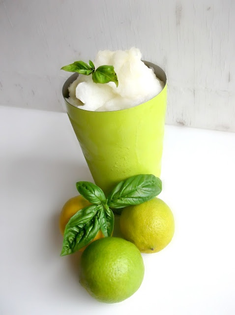 Lemon-Lime Basil Sorbet.... | Recipes | Pinterest