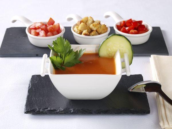 Starter Recipe: Gazpacho Andaluz | Acompañantes | Pinterest