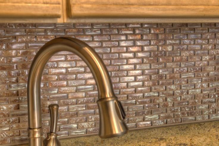 mother of pearl glass backsplash kitchen ideas pinterest