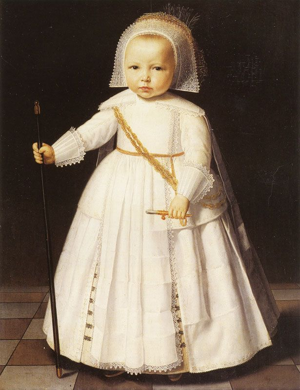 Dirck Dircksz. Santvoort, Boy in White, c. 1641 - Netherlands, private collection