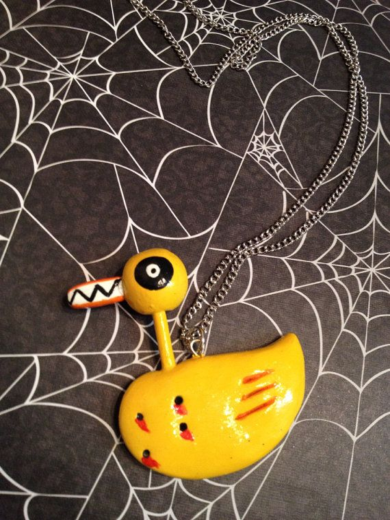 Nightmare Before Christmas Evil Duck Toy Necklace
