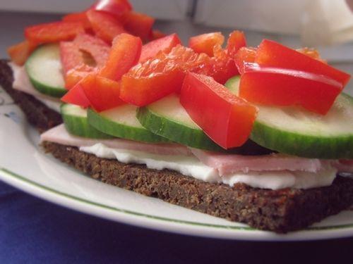 veggie turkey sandwich | Eating Healthy | Pinterest