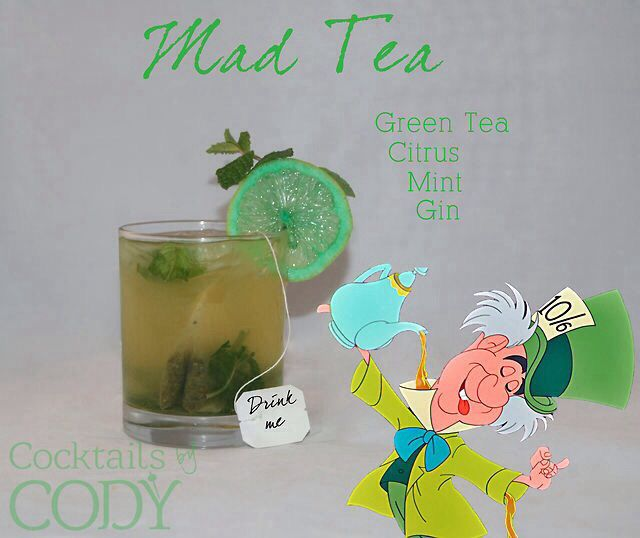 Mad hatter cocktail | recipes | Pinterest