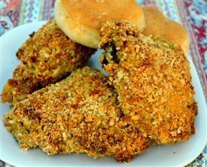 Spicy Oven Fried Chicken | Foodz! | Pinterest