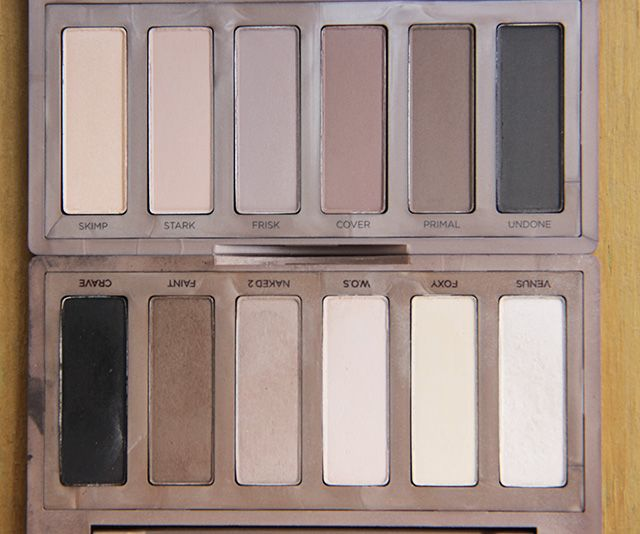 naked basics 1 and 2 #naked #nakedpalettes #nakedbasics1 #nakedbasics2 #matte #mattemakeup #matteeyeshadow #beauty #bblogger #bbloggers #swatch