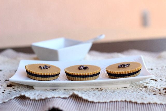 inside out peanut butter cups | sweet | Pinterest