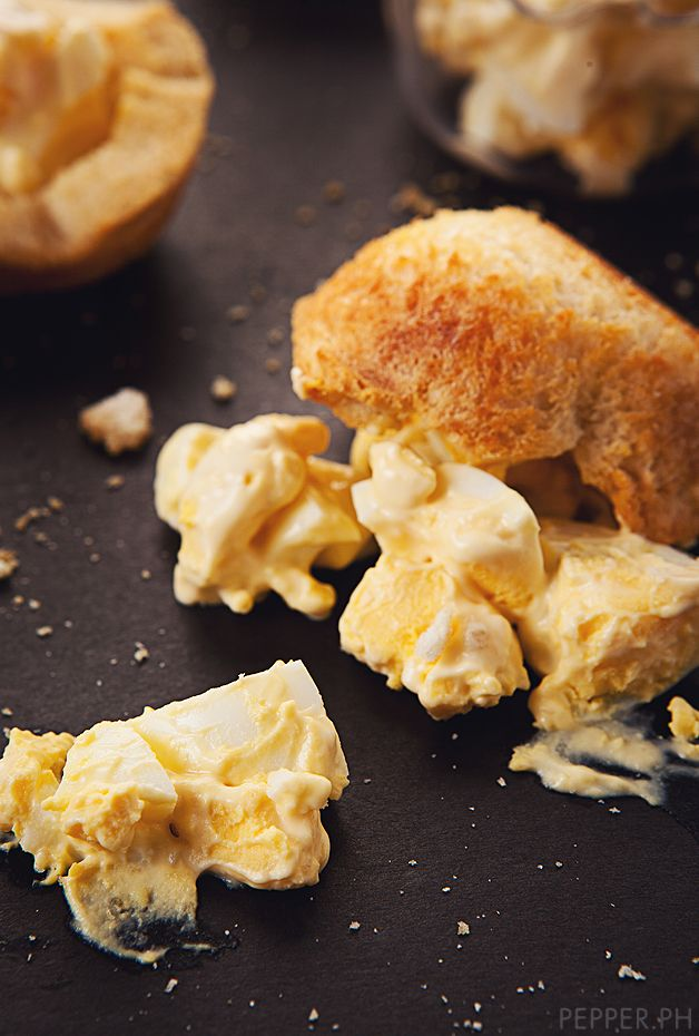 truffled eggs | Mostly Vegetarian | Pinterest