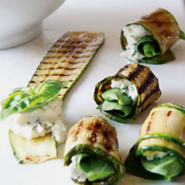 Zucchini appetizers | Recipes I love...little bites of heaven | Pinte ...