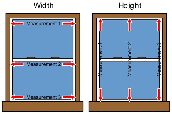 How to measure a door size window replacement measuring for Replacement window sizes