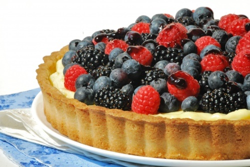 Classic Berry Tart | Pies and Sweet Tarts | Pinterest