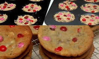 hugs amp cookiesxoxo dark chocolate raspberry m amp m cookies